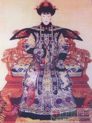 手绘古代皇后宫殿图片