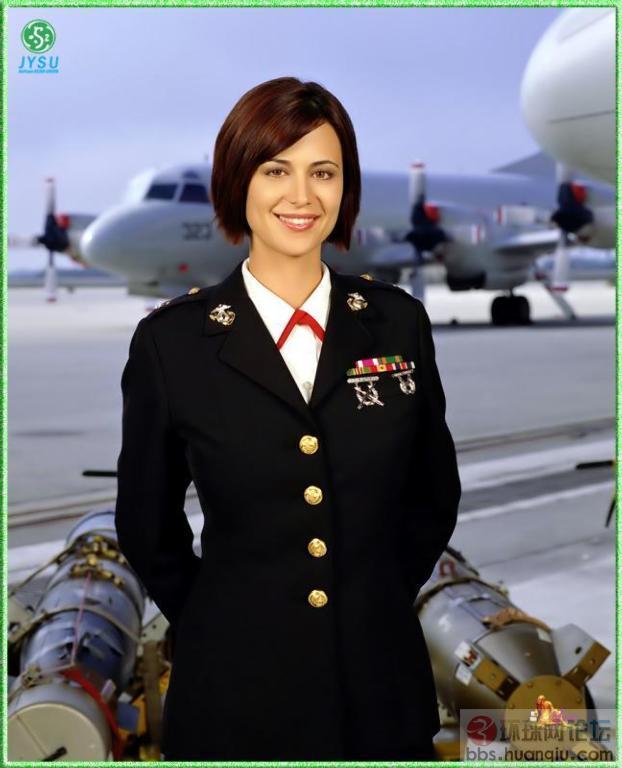 美国空军女兵 休闲灌水