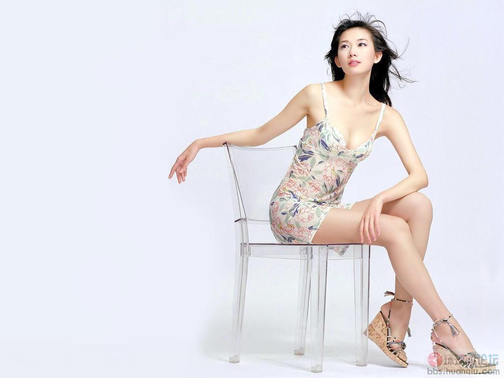 2014林志玲深圳蛇口现场图片