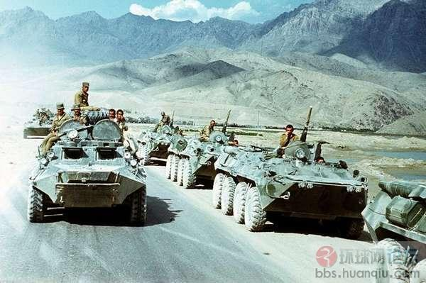 苏联入侵阿富汗,解体前扩张的最后一曲挽歌_成