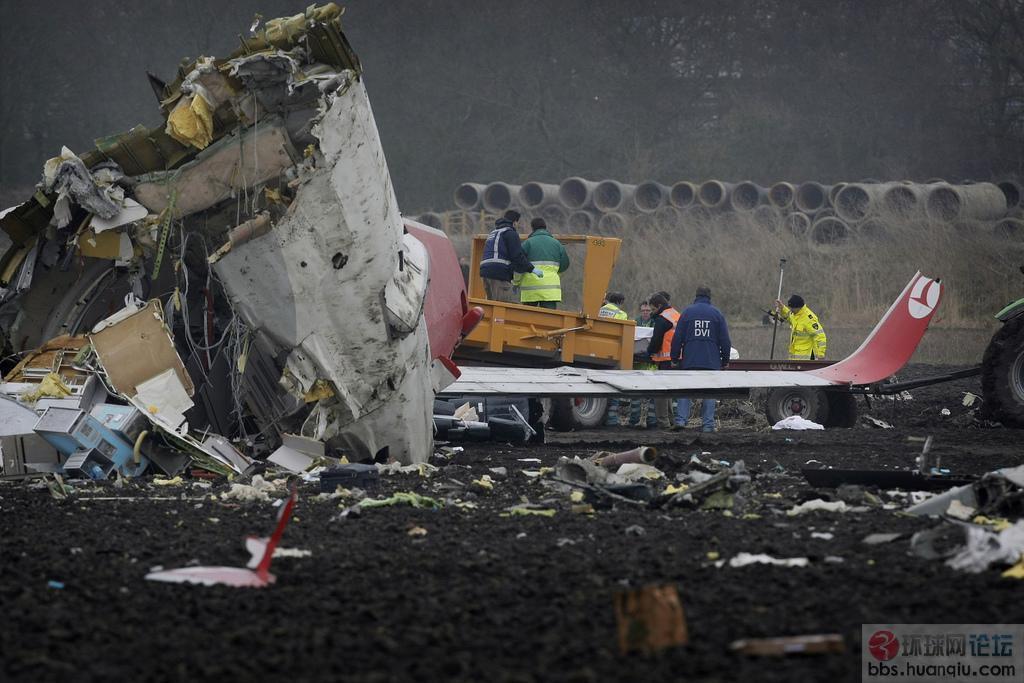 精彩组图: 平时绝少看到的飞机失事图片