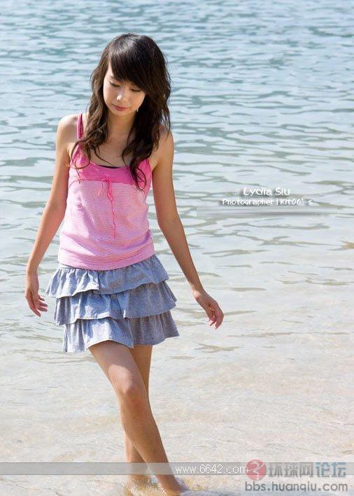 回忆夏日时尚短裙少女外拍 图说世界