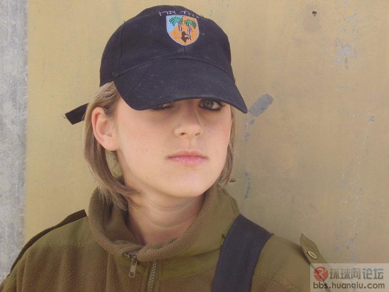 训练有素的以色列漂亮女兵 环球谈兵 环球网 高清图片