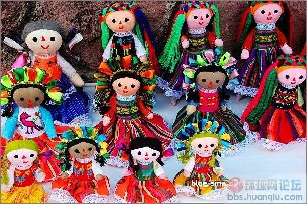 墨西哥风格的布娃娃