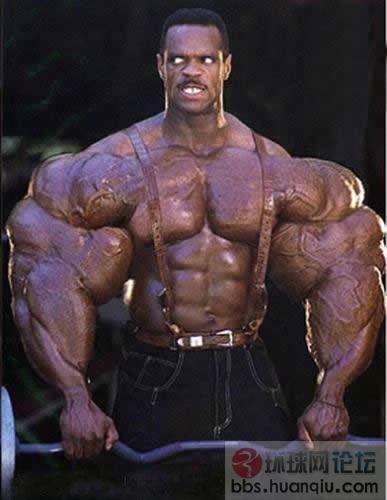震撼!全球最强健身肌肉男