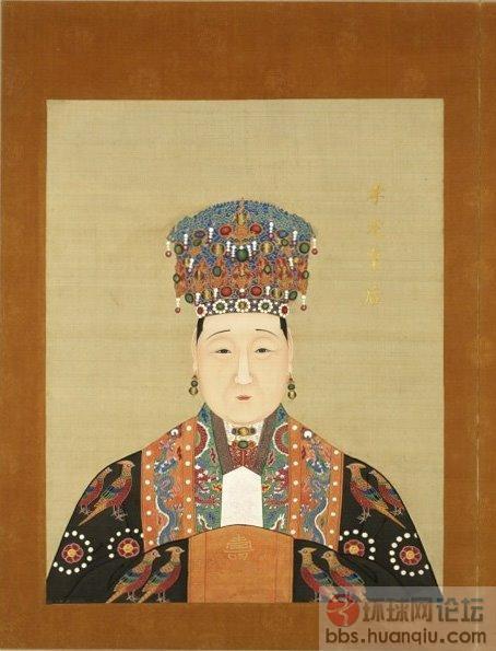 明朝历代皇帝皇后画像图片