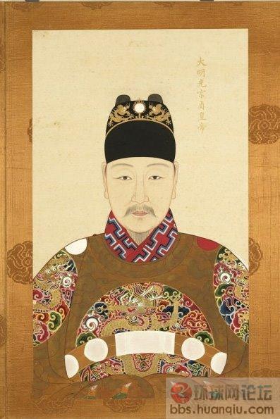 ZT明朝历代皇帝皇后画像图片