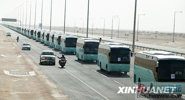 中国客车卡塔尔破吉尼斯世界纪录