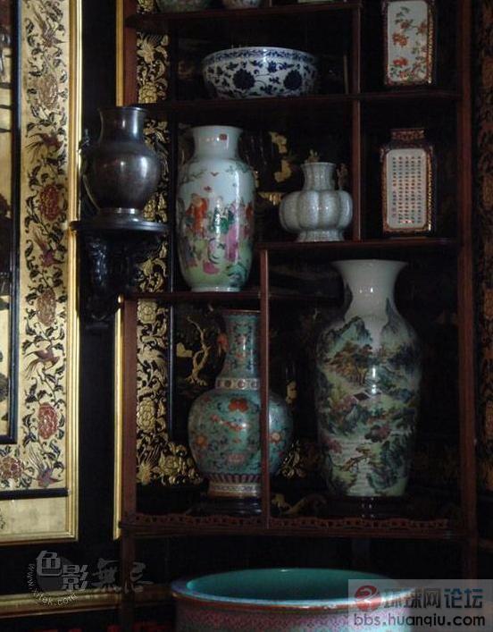 法国枫丹白露宫的圆明园宝物