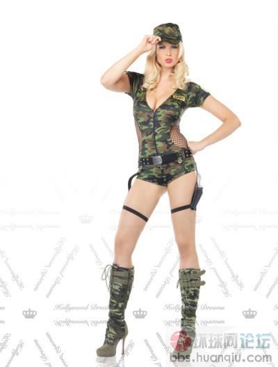军装美女 尖端兵器