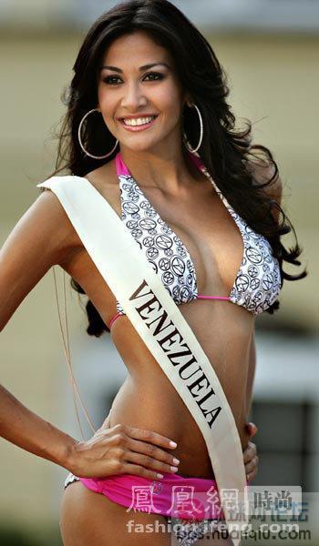 组图:委内瑞拉盛产美女 让人目不暇接