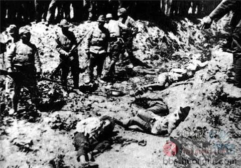 南京大屠杀最震撼照片