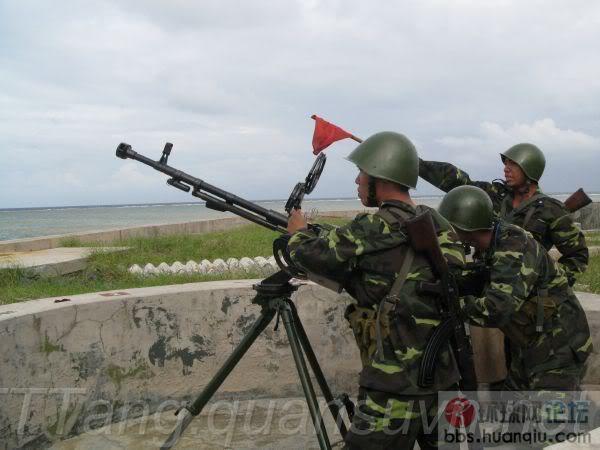 猖狂的越南军在南海