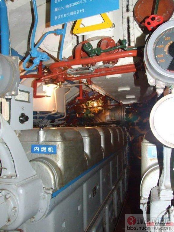 太挤!中国潜艇舱室曝光