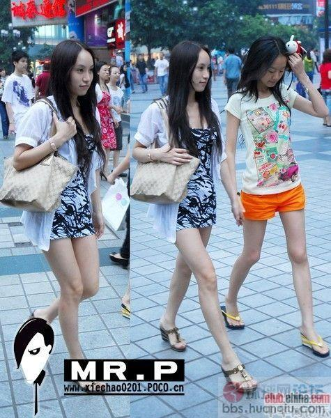 重庆街拍美女太诱惑了 竖