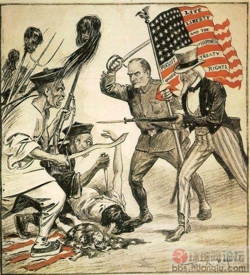 郑若麟 西方画家笔下的八国联军侵华战争图片