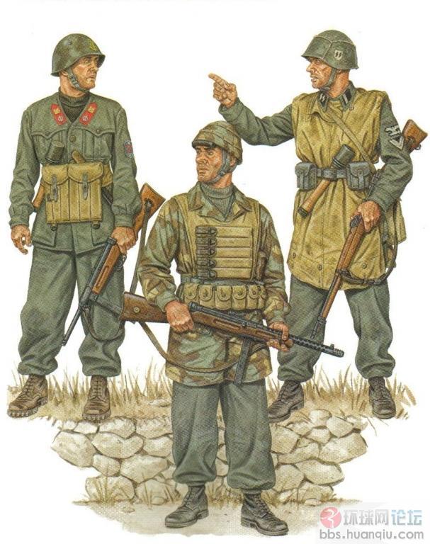 二战德军手绘图册