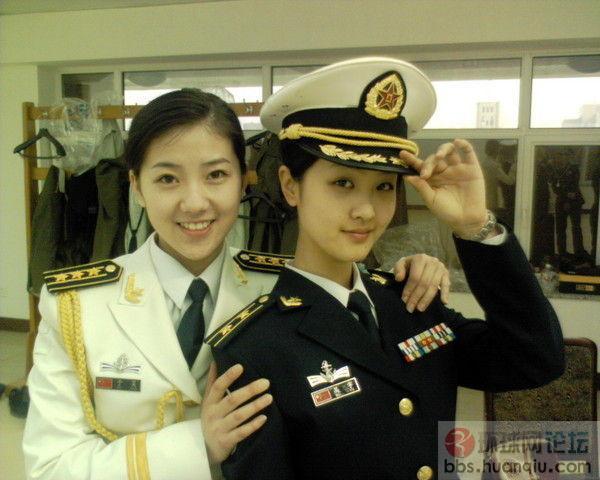 叫军 超美的中国女军人图片