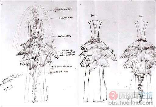 bbc英伦网收到一些热爱服装设计的中国同学为英国