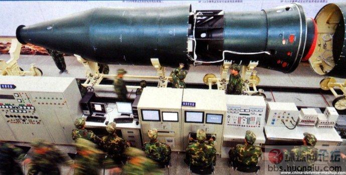 中国巨泻惊人的核弹头数量,短程、中程、远程