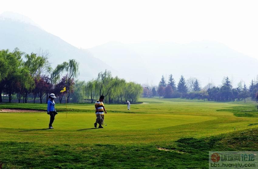 【原创】实拍西安亚建高尔夫球场……(图6p)