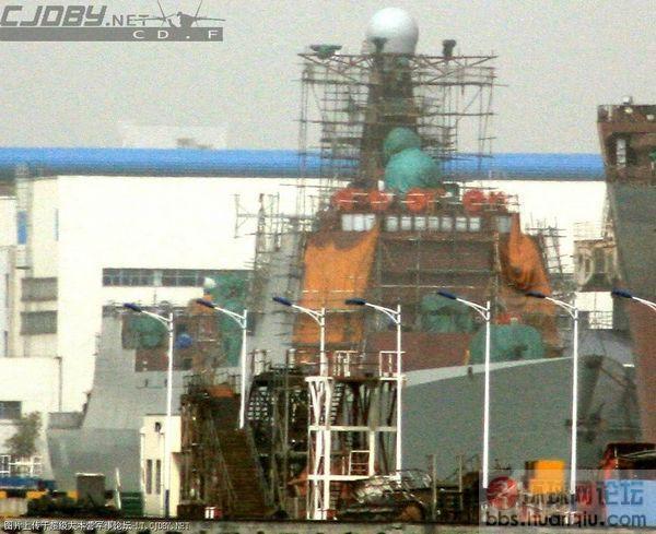 威武!江南在建的几艘新中华神盾大驱最新进展