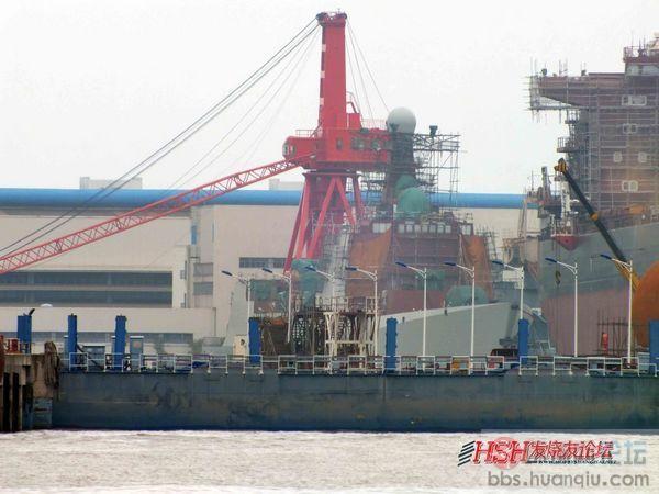 """长兴岛播报:中国海军大批""""新玩具""""建造进度很快!"""