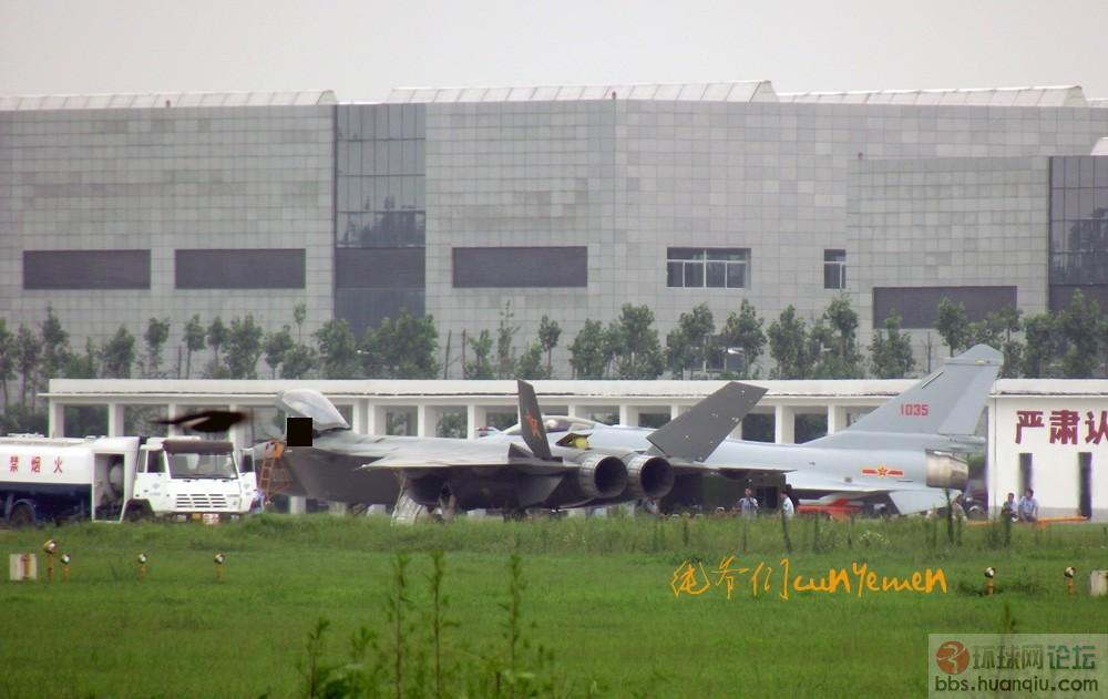 中国 成飞/猛到飙血:全国产3.5代战机歼十B 05机横空出世!