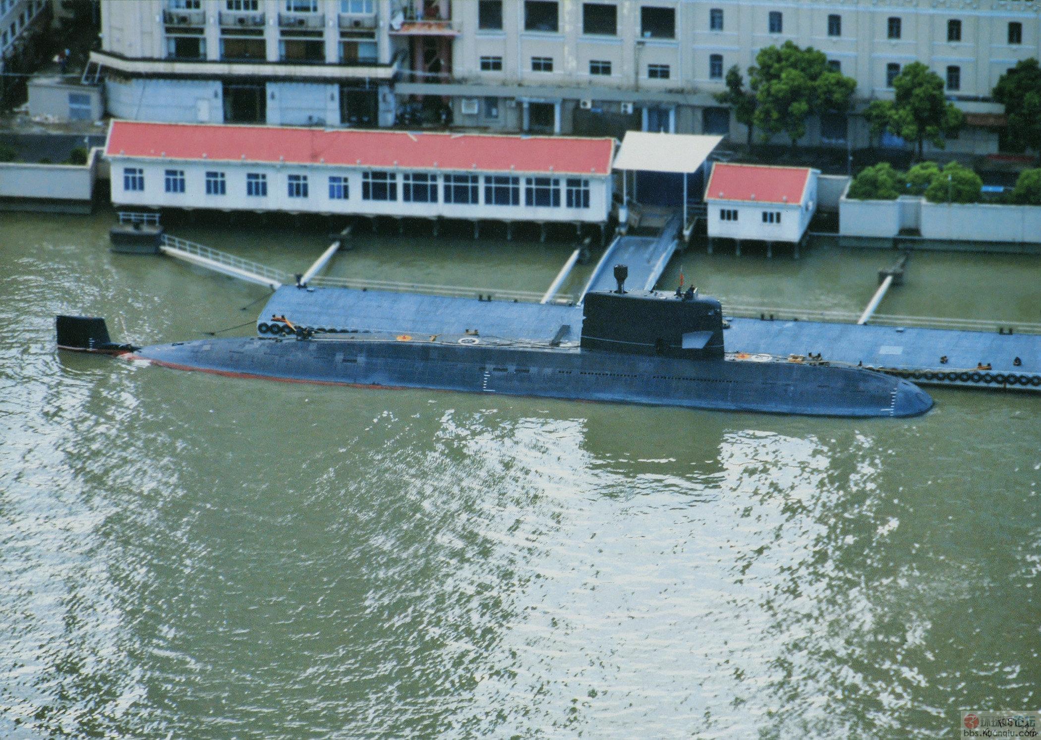 线条优美:俯瞰中国海军最新039A常规潜艇