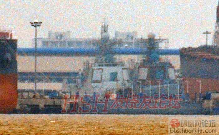两艘排排坐:新中华神盾舰最新进展