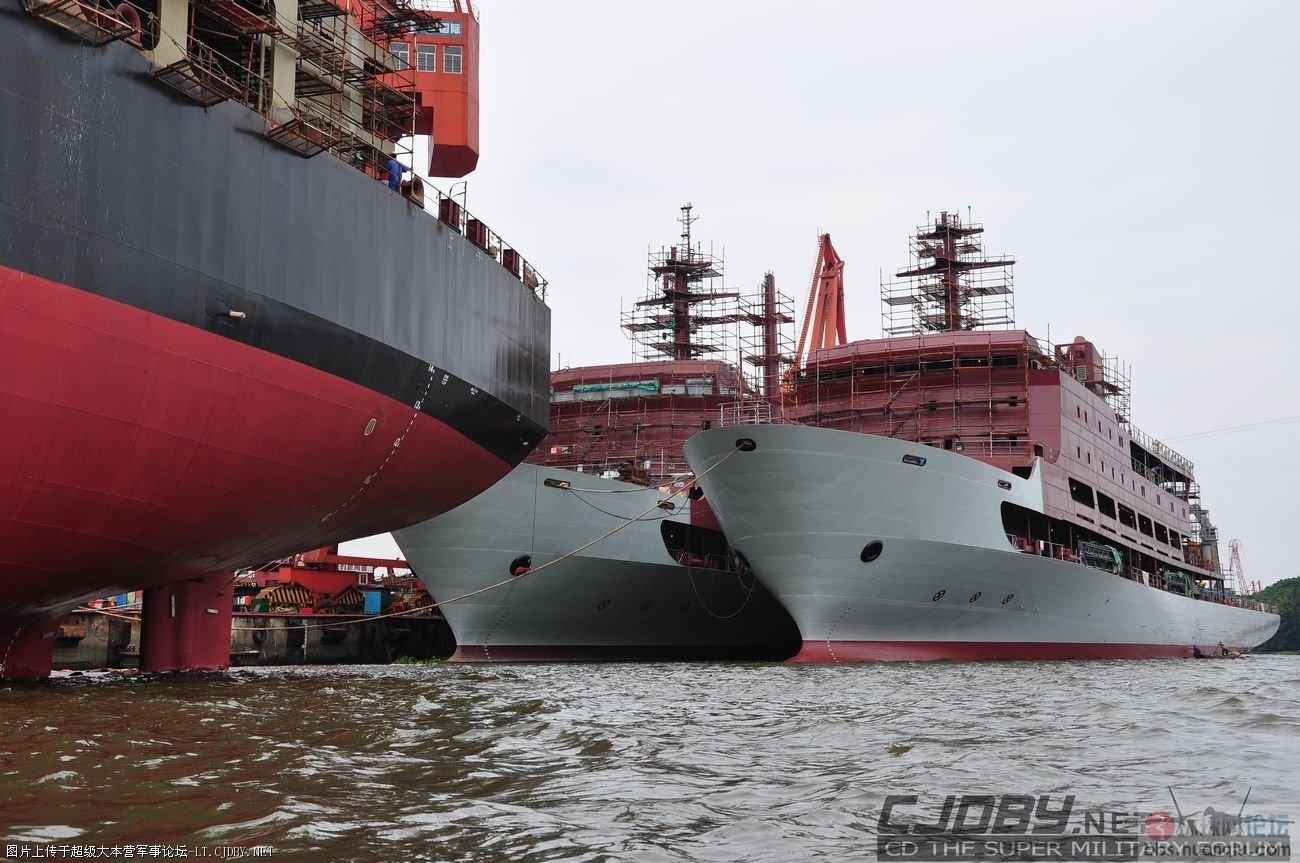 从南到北,这新型舰艇下饺子的速度那没的说!
