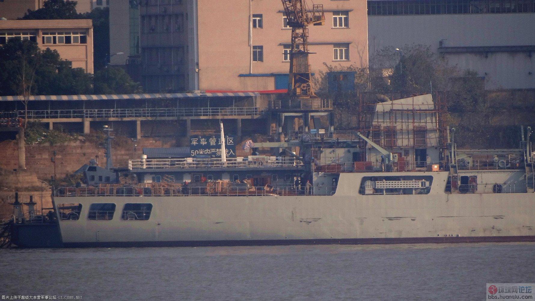 中国出口的S11舰快完工了