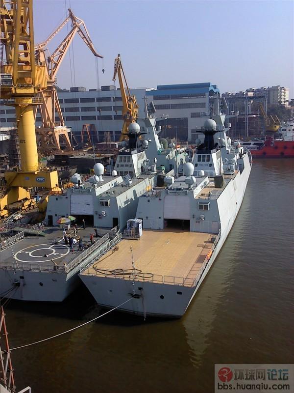 速度真不一般的快:黄埔的第13艘054A也下水了!