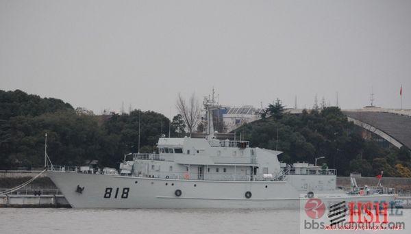 中国海军818舰即将交付