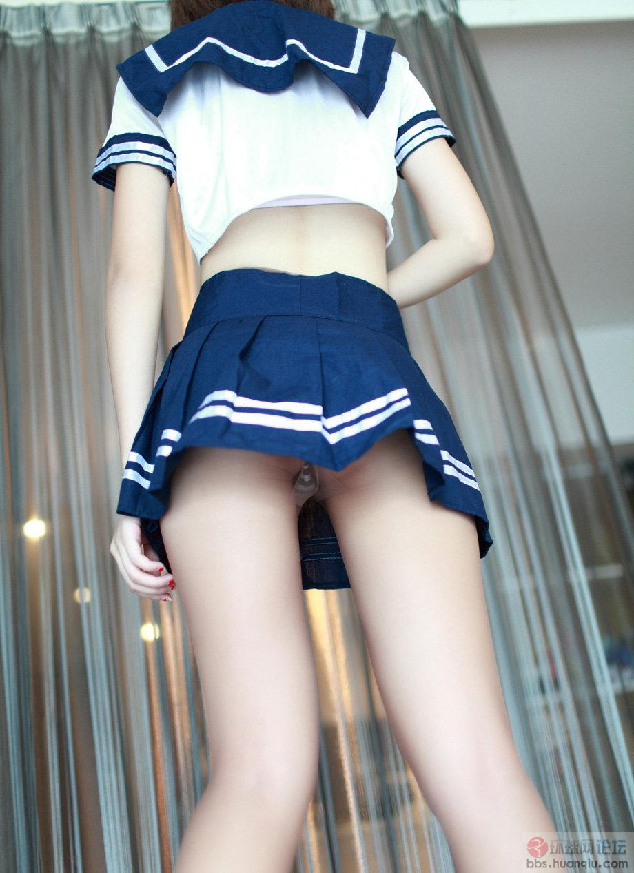 丝袜美女腿模学生制服可爱诱惑