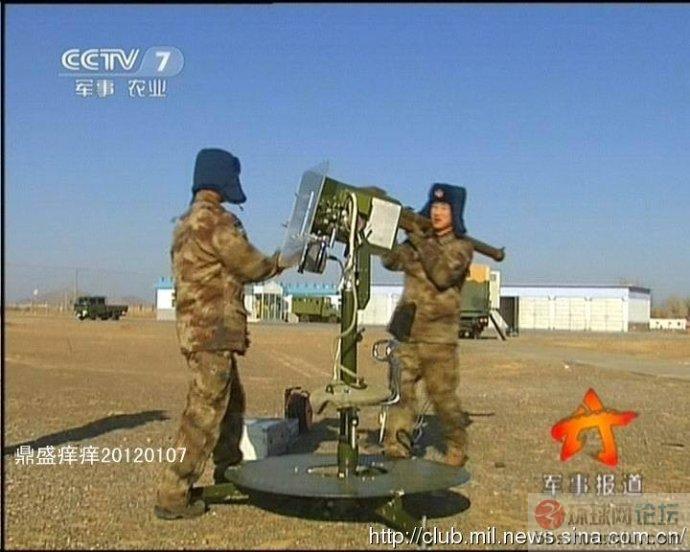 试验中的中国HY-6便携式地空导弹