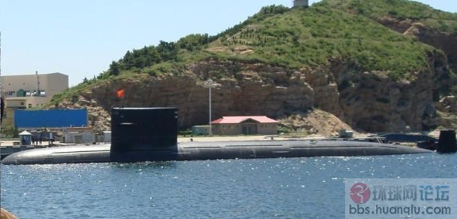 某基地中国海军093大核牙悄悄露出真面目!
