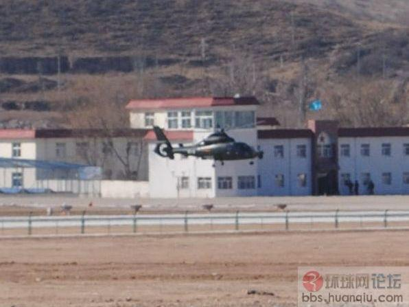 北空某重歼基地惊现WZ-9武装直升机