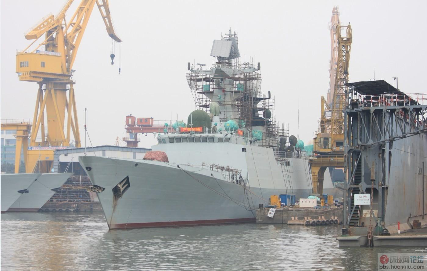 黄埔船厂的056和054A建造真是神速!