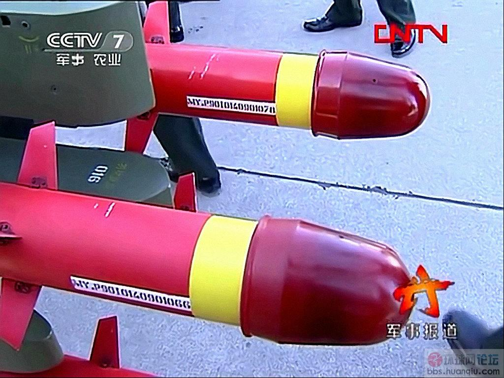 领导来视察:陆航某部一地的新式导弹啊!