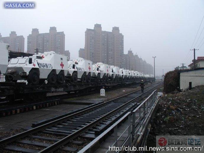 中国军工给力啊:大量战车出国了