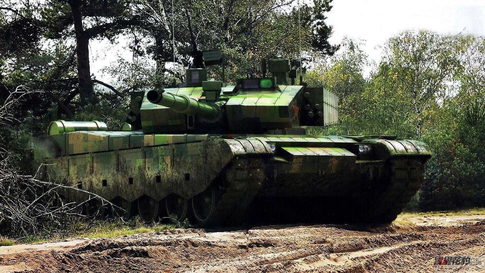王者风范:解放军最新重型99大改坦克露狰狞!