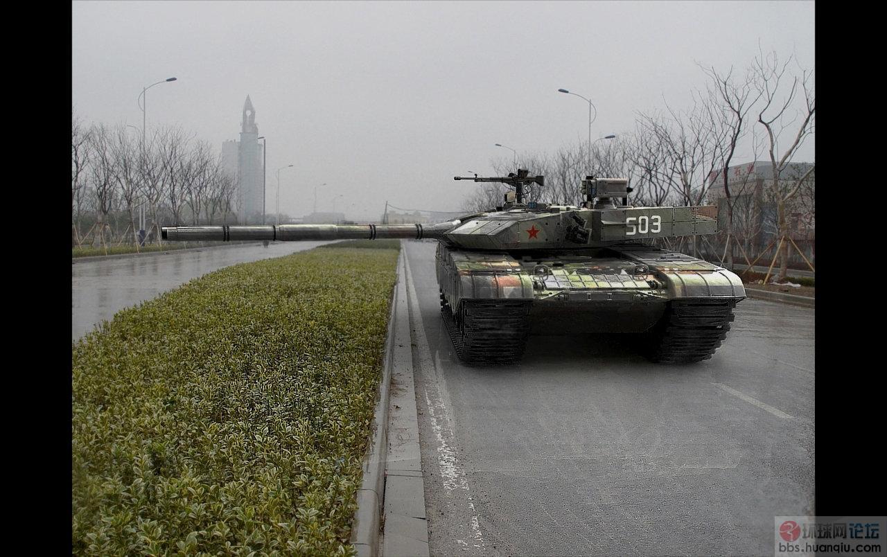 坦克 解放军 超猛 巡视/王者气势:解放军99坦克震撼CG