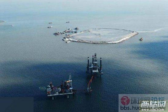 解放军终于在南海出手:中国围海造岛令美菲