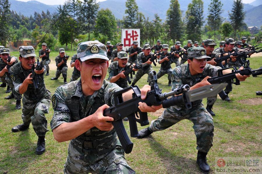 女军人图片大全 中国女军人