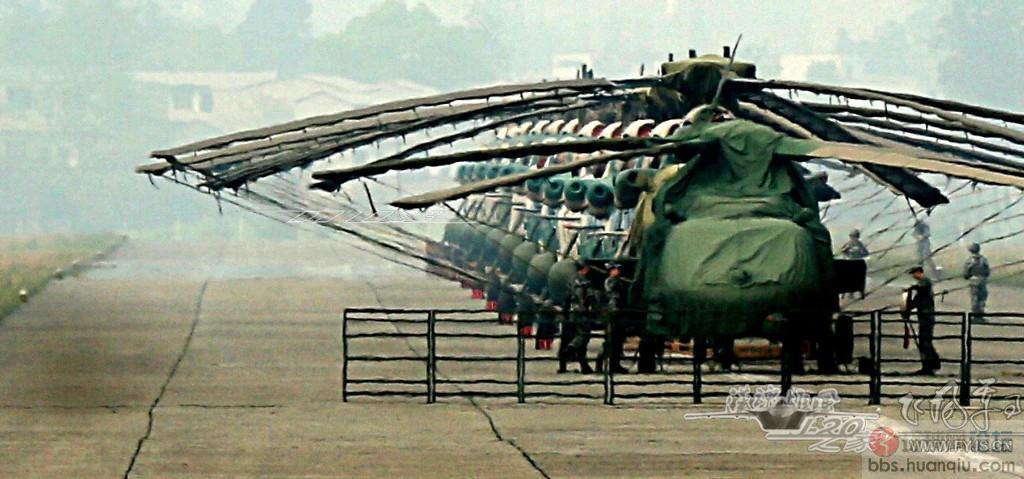 帅呆了:超霸气的解放军陆航直升机群!