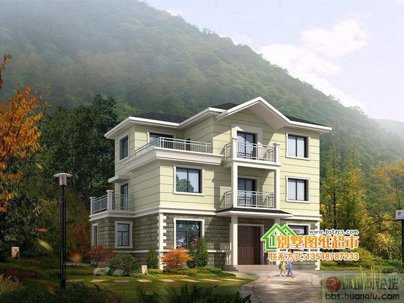 二层农村自建房-别墅设计图纸1