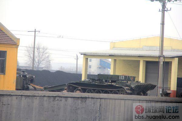 解放军的老坦克数量还是很多啊