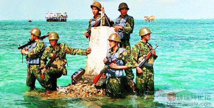 中国军人风采-祖国最可爱的人!南海守礁战土和考察队