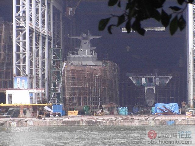 又成型了:中国海军056护卫舰加班加点的猛造啊!